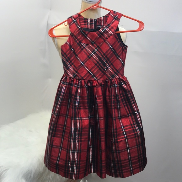Christmas Dress.Bonnie Jean Size 7 Girls Christmas Dress